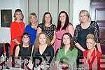 Staff from Kerry General Hospital Administrative office who dined in Cassidy's, Tralee last Friday night for their annual Christmas party, were front l-r: Ciara O'Sullivan, Lorraine Guerin, Joan McDade and Breda O'Brien. Back l-r: Denise O'Sullivan, Pauline McCarthy, Karen White, Rachael Tobin and Nollig Barry.