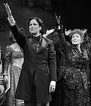 Stephanie J. Block, Chita Rivera, Jim Norton, Will Chase, Gregg Edelman & Company during the Broadway Opening Night Performance Curtain Call for 'The Mystery of Edwin Drood' at Studio 54 in New York City on 11/13/2012
