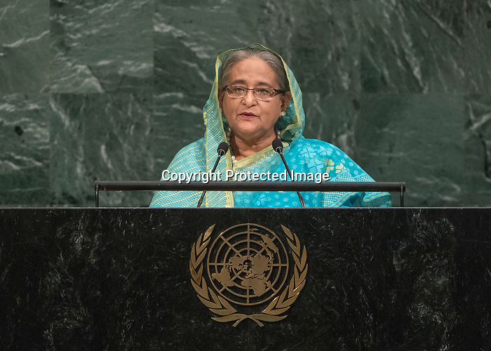 72 General Debate – 20 September <br /> <br /> by Her Excellency Sheikh Hasina, Prime Minister of the People's Republic of Bangladesh