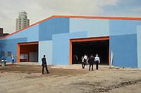 SÃO PAULO, SP, 18 DE JANEIRO DE 2012 - KASSAB E PADRILHA VISITAM COMPLEXO PRATES  - Obras do complexo Prates, localizado na Rua Prates, 1100, no bairro do Bom Retiro, que foram visitadas pelo  Prefeito Gilberto Kassab e o Ministro do Esatdo da Saúde, Alexandre Padrila na manhã desta quarta-feira,18. FOTO: ALEXANDRE MOREIRA - NEWS FREE.