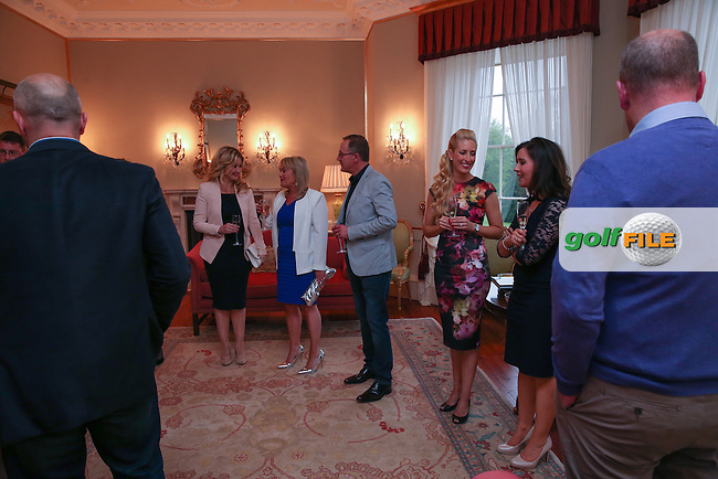 The Eircom Evening Reception at the Montalto Estate during the week of the 2015 Dubai Duty Free Irish Open Hosted by The Rory Foundation at Royal County Down Golf Club, Newcastle County Down, Northern Ireland. 30/05/2015. Picture David Lloyd | www.golffile.ie