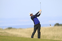Matthew Nixon (ENG) on the 18th fairway during Round 3 of the 2015 Alfred Dunhill Links Championship at Kingsbarns in Scotland on 3/10/15.<br /> Picture: Thos Caffrey | Golffile