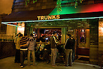 Trunks Bar on Santa Moinca Boulevard in West Hollywood, CA
