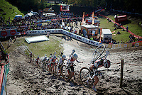 "it's an extreme steep dune out of ""The Pit""<br /> <br /> GP Zonhoven 2014"