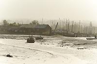 A Harbour Near Oare in Kent