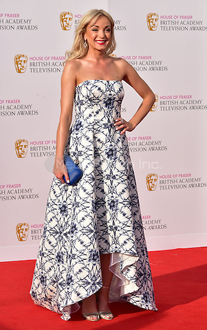 LONDON, ENGLAND - MAY 08: Helen George at he British Academy (BAFTA) Television Awards 2016, Royal Festival Hall, Belvedere Road, London, England, UK, on Sunday 08 May 2016.<br /> CAP/JOR<br /> &copy;JOR/Capital Pictures /MediaPunch ***NORTH AMERICA AND SOUTH AMERICA ONLY***