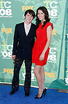 Actor Drake Bell and guest arrive at the 2008 Teen Choice Awards at the Gibson Amphitheater on August 3, 2008 in Universal City, California.
