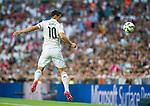 The Real Madrid Player James Rodriguez in a league football match in santiago Bernabeu stadium. 2014/09/13. Madrid. Spain. Samuel de Roman / Photocall3000