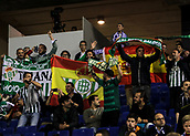 30th October 2017, Cornella-El Prat, Cornella de Llobregat, Barcelona, Spain; La Liga football, Espanyol versus Real Betis; Betis fans at RCDE Stadium