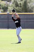 Roger Kieschnick, San Francisco Giants 2010 minor league spring training..Photo by:  Bill Mitchell/Four Seam Images.