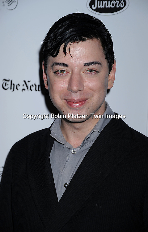 Malan Breton of Project Runway..at The Broadway Cares/Equity Fights Aids 22nd Annual Broadway Flea Market on September 21, 2008 in Shubert Alley in New York City. ....Robin Platzer, Twin Images