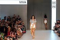 BELO HORIZONTE, MG,06.04.2016- MINAS-TREND -  Modelo durante desfile da grife Viva por Vivaz na 18ª edição do Minas Trend, no Expominas, em Belo Horizonte (MG), nesta quarta-feira, 06. (Foto: Doug Patricio / Brazil Photo Press)