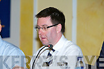 Brian Mehigan of Kerry at the AGM in the Brandon Hotel, Tralee, on Tuesday   Copyright Kerry's Eye 2008