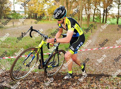 2014-11-22 / Veldrijden / seizoen 2014-2015 / PK Antwerpen Junioren / Diederik Pemen<br /><br />Foto: mpics.be