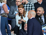 Coleen Rooney looks on during the premier league match at Goodison Park, Liverpool. Picture date 12th August 2017. Picture credit should read: David Klein/Sportimage