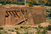 Penitente Brotherhood Chapel in Abiquiu, New Mexico (Morada