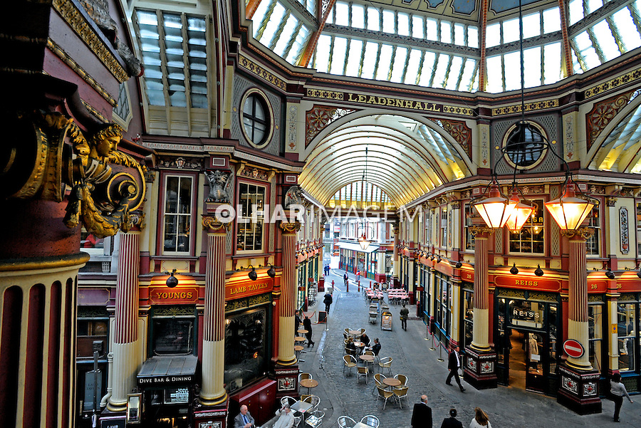 Leadenhall Market. Londres. Inglaterra. 2008. Foto de Juca Martins.