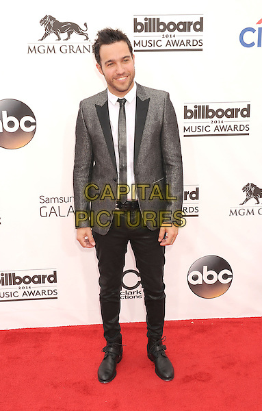 LAS VEGAS, CA- MAY 18: Musician Pete Wentz arrives at the 2014 Billboard Music Awards at the MGM Grand Garden Arena on May 18, 2014 in Las Vegas, Nevada.<br /> CAP/ROT/TM<br /> &copy;Tony Michaels/Roth Stock/Capital Pictures