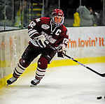 23 January 2009: University of Massachusetts Minutemen forward Cory Quirk, a Senior from Brockton, MA, in action against the University of Vermont Catamounts during the first game of a weekend series at Gutterson Fieldhouse in Burlington, Vermont. The Catamounts defeated the visiting Minutemen 2-1. Mandatory Photo Credit: Ed Wolfstein Photo