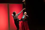 Artist Tomasito and clown Oriol Boixader during the performance of Chufla. September 25, 2019. (ALTERPHOTOS/Johana Hernandez)