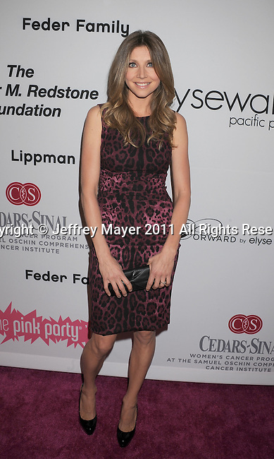 =HOLLYWOOD=, CA - SEPTEMBER 10: Sarah Chalke attends the Pink Party '11 Hosted By Jennifer Garner To Benefit Cedars-Sinai Women's Cancer Program at Drai's Hollywood on September 10, 2011 in Hollywood, California.