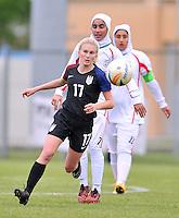Monfalcone, Italy, April 26, 2016.<br /> USA's #17 Nighswonger during USA v Iran football match at Gradisca Tournament of Nations (women's tournament). Monfalcone's stadium.<br /> © ph Simone Ferraro / Isiphotos