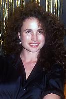 Andi McDowell, 1985, Photo By John Barrett/PHOTOlink