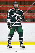 Jim Gaudet (Dartmouth - 4) - The Dartmouth College Big Green defeated the Harvard University Crimson 6-2 on Sunday, November 29, 2009, at Bright Hockey Center in Cambridge, Massachusetts.