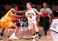STANFORD, CA - NOVEMBER 26: Jamie Carey of the Stanford Cardinal during Stanford's 79-73 loss against the Tennessee Volunteers on November 26, 1999 at Maples Pavilion in Stanford, California.