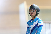 Lancely Yung of Auckland  competes in the U17 Girls 2000m IP at the Age Group Track National Championships, Avantidrome, Home of Cycling, Cambridge, New Zealand, Thurssday, March 16, 2017. Mandatory Credit: © Dianne Manson/CyclingNZ  **NO ARCHIVING**