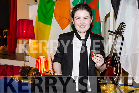 First place in the Aithriseoireacht/Scéalaíochta went to Ailisha Daughton from Tralee St Brendans-Tralee Parnells.