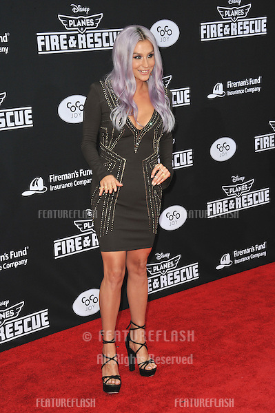 Pop star Kesha at the world premiere of Disney's &quot;Planes: Fire &amp; Rescue&quot; at the El Capitan Theatre, Hollywood.<br /> July 15, 2014  Los Angeles, CA<br /> Picture: Paul Smith / Featureflash
