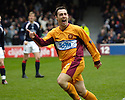 11/03/2006         Copyright Pic: James Stewart.File Name : sct_jspa09_motherwell_v_falkirk.SCOTT MCDONALD CELEBRATES AFTER HE SCORES THE SECOND FOR MOTHERWELL....Payments to :.James Stewart Photo Agency 19 Carronlea Drive, Falkirk. FK2 8DN      Vat Reg No. 607 6932 25.Office     : +44 (0)1324 570906     .Mobile   : +44 (0)7721 416997.Fax         : +44 (0)1324 570906.E-mail  :  jim@jspa.co.uk.If you require further information then contact Jim Stewart on any of the numbers above.........