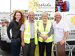 Emily Briggs, Matthew McGuinness, Cathleen Briggs and Paddy Smith from Drogheda Senior Citizens at the Community Fund Launch held at Tesco car park. Photo:Colin Bell/pressphotos.ie