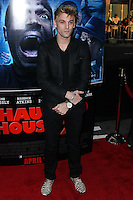 """LOS ANGELES, CA, USA - APRIL 16: Aaron Carter at the Los Angeles Premiere Of Open Road Films' """"A Haunted House 2"""" held at Regal Cinemas L.A. Live on April 16, 2014 in Los Angeles, California, United States. (Photo by Xavier Collin/Celebrity Monitor)"""