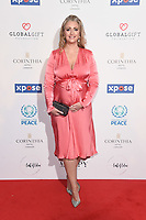 Hayley McQueen<br /> arriving for the Football for Peace initiative dinner by Global Gift Foundation at the Corinthia Hotel, London<br /> <br /> ©Ash Knotek  D3493  08/04/2019