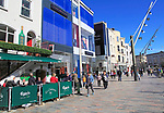 Shops on St Patrick's Street, City of Cork, County Cork, Ireland, Irish Republic
