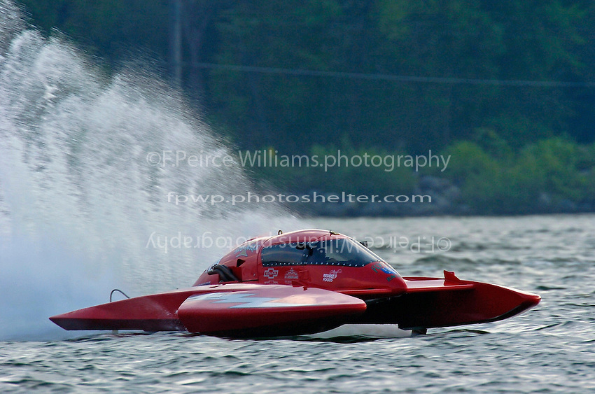 "Joe Flynn, E-110 ""Red Max"" (5 Litre class hydroplane)"