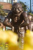sculpture,statue,Stanley park,street Sculpture, Stanley park area. Vancouver, Canada