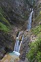 Martuljek Waterfalls, Triglav National Park, Julian Alps, Slovenia, July.
