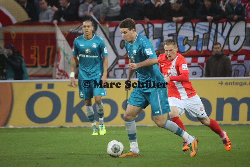 Alex Meier (Eintracht)- 1. FSV Mainz 05 vs. Eintracht Frankfurt, Coface Arena, 12. Spieltag