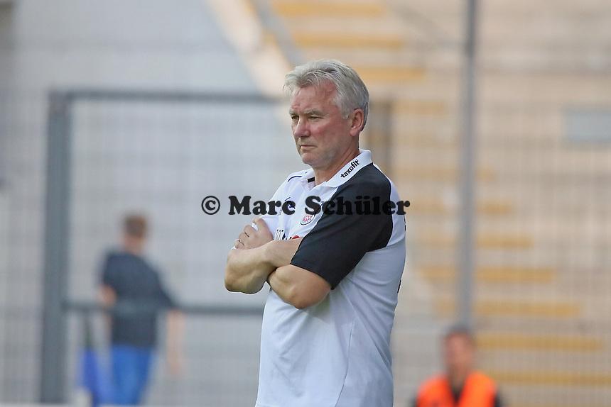 Trainer Benno Möhlmann (FSV) - FSV Frankfurt vs. Eintracht Frankfurt, Frankfurter Volksbank Stadion