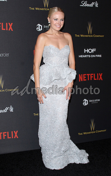 10 January 2016 - Los Angeles, California - Malin Akerman. 2016 Weinstein Company & Netflix Golden Gloves After Party held at the Beverly Hilton Hotel. Photo Credit: AdMedia