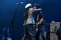 LONDON, ENGLAND - AUGUST 8: Nile Rodgers and Johnny Marr performing at Nile Rodgers' Meltdown at Royal Festival Hall on August 8, 2019 in London, England.<br /> CAP/MAR<br /> ©MAR/Capital Pictures