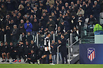 Diego Simeone Head coach of Atletico Madrid applauds as Paulo Dybala of Juventus is substituted during the UEFA Champions League match at Juventus Stadium, Turin. Picture date: 26th November 2019. Picture credit should read: Jonathan Moscrop/Sportimage