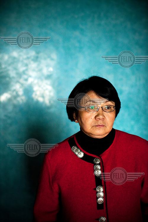 Roza Otumbaeva, head of the temporary government in Kyrgyzstan after the 7th of April 2010 uprising.