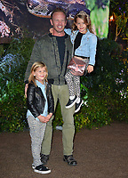 Ian Ziering, Mia Loren Ziering &amp; Penna Mae Ziering at the Los Angeles premiere of &quot;Jumanji: Welcome To the Jungle&quot; at the TCL Chinese Theatre, Hollywood, USA 11 Dec. 2017<br /> Picture: Paul Smith/Featureflash/SilverHub 0208 004 5359 sales@silverhubmedia.com
