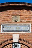 Europe/France/Midi-Pyérénées/82/Tarn-et-Garonne/Montauban: Le Musée Ingres - Le Portail