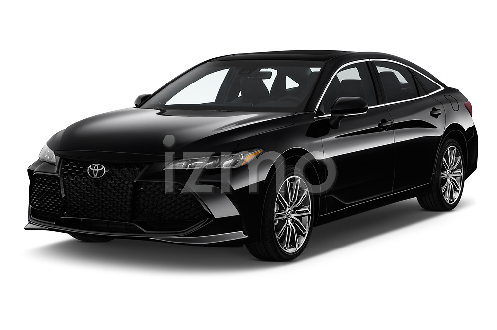 2020 Toyota Avalon XSE 4 Door Sedan angular front stock photos of front three quarter view