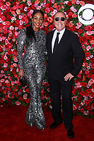 NEW YORK, NY - JUNE 10:  Tiffany Haddish and  Michael Kors  at the 72nd Annual Tony Awards at Radio City Music Hall in New York City on June 10, 2018.